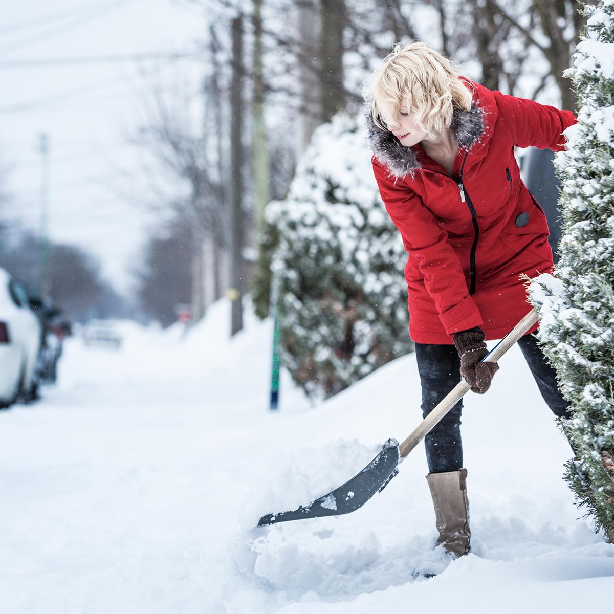 Snow Shoveling Injuries